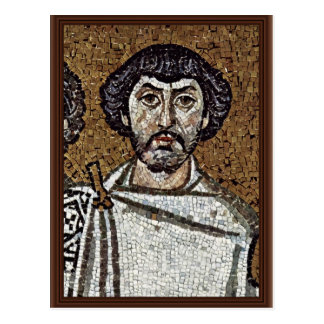 Emperor Justinian And His Court, And Bishop Maxim Post Cards
