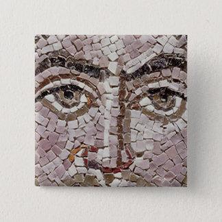 Emperor Justinian I  c.547 AD 15 Cm Square Badge
