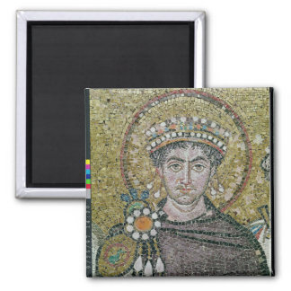 Emperor Justinian I  c.547 AD Magnets