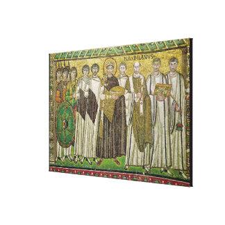 Emperor Justinian I Canvas Print