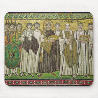 Emperor Justinian I Mouse Pad