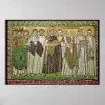Emperor Justinian I Poster