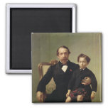 Emperor Louis-Napoleon Bonaparte  and his son Magnet