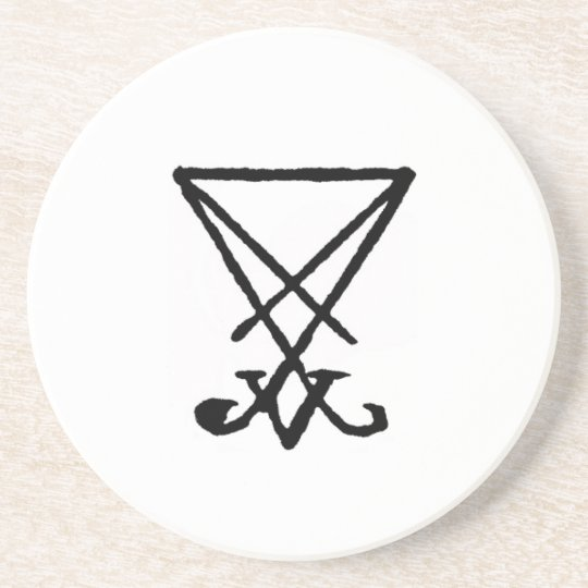 Emperor Lucifer Honorary Offering Disc Coaster