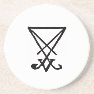 Emperor Lucifer Honorary Offering Disk Drink Coasters