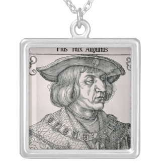 Emperor Maximilian I of Germany Silver Plated Necklace