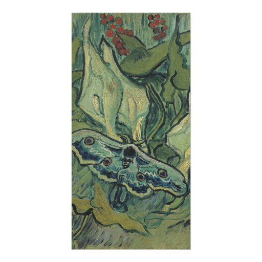 Emperor Moth by Vincent Van Gogh Customized Photo Card