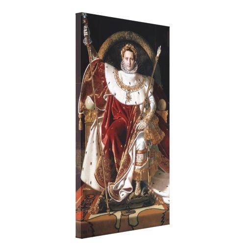 Emperor Napoleon Bonaparte Gallery Wrapped Canvas