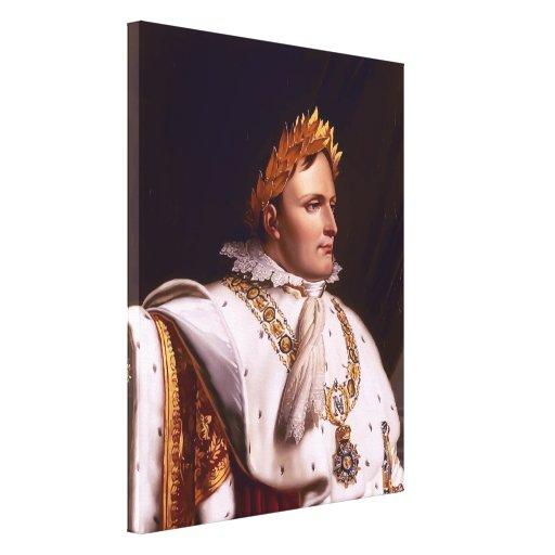 Emperor Napoleon Bonaparte Canvas Prints