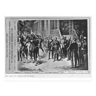 Emperor Napoleon III and Kaiser Wilhelm I Postcard
