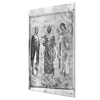 Emperor Nicephorus III Botaniates Canvas Print