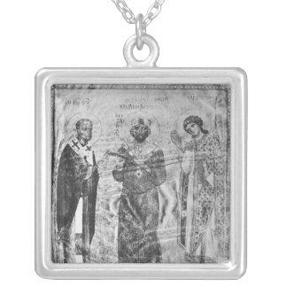 Emperor Nicephorus III Botaniates Silver Plated Necklace