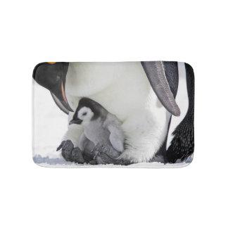 Emperor Penguin At Snow Hill Island Bath Mat