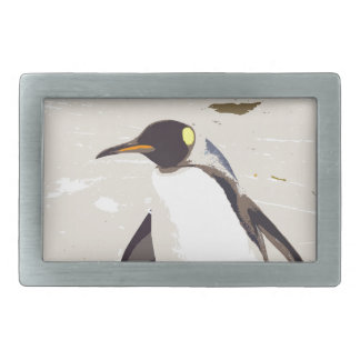 Emperor penguin belt buckle
