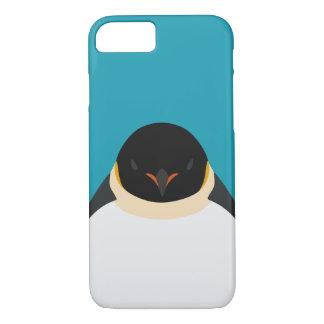 Emperor Penguin - bird illustration iPhone 8/7 Case