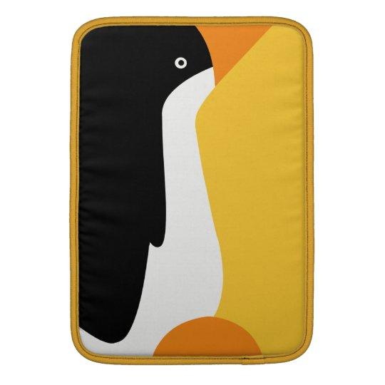 "Emperor Penguin Cartoon Macbook Air 13"" Sleeve"