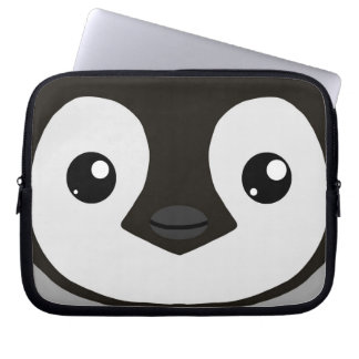 Emperor Penguin Chick Laptop Sleeve