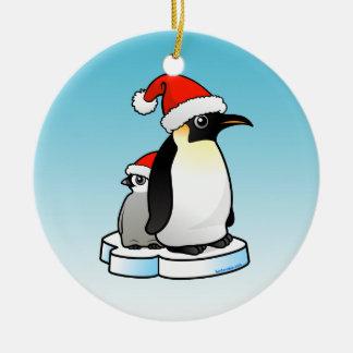 Emperor Penguin Christmas Ornament