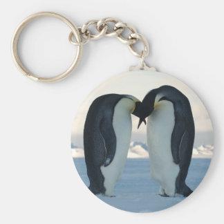 Emperor Penguin Courtship Key Ring