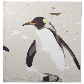 Emperor penguin napkin