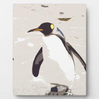 Emperor penguin plaques