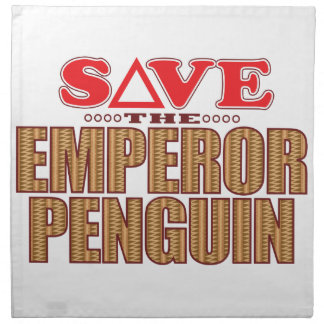 Emperor Penguin Save Napkin