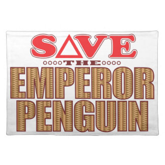 Emperor Penguin Save Placemat