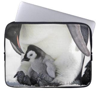 Emperor Penguin | Snow Hill Island Laptop Sleeve