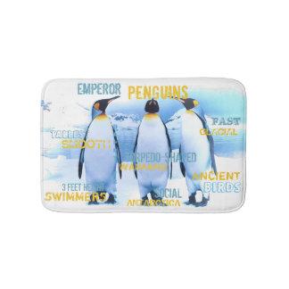 Emperor Penguins Bath Mat