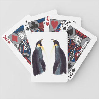 Emperor Penguins Playing Cards