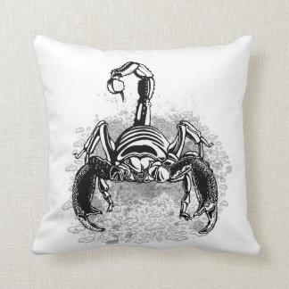 Emperor scorpion cushion