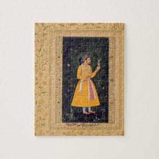 Emperor Shah Jahan (1592-1666) (r.1627-1658) as a Jigsaw Puzzle