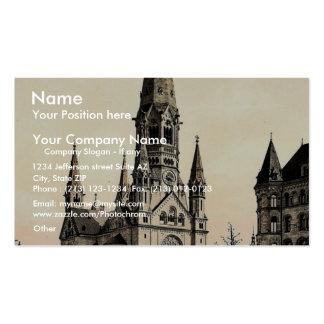 Emperor Wilhelm's Memorial Church, Berlin, Germany Business Card Templates