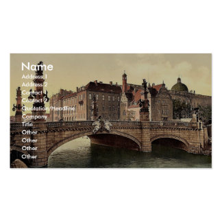 Emperor William's Bridge, Berlin, Germany classic Business Card Template