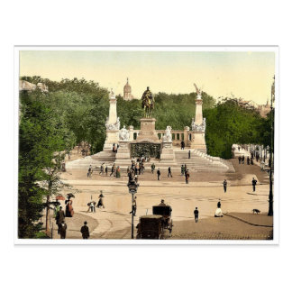 Emperor William's Memorial, Breslau, Silesia, Germ Postcard