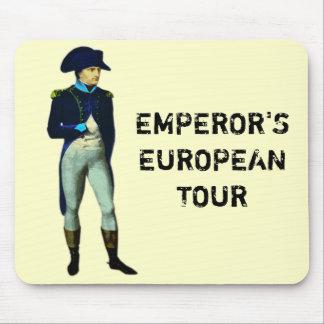 EMPEROR'S EUROPEAN TOUR MOUSEPAD