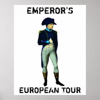 EMPEROR'S EUROPEAN TOUR POSTERS