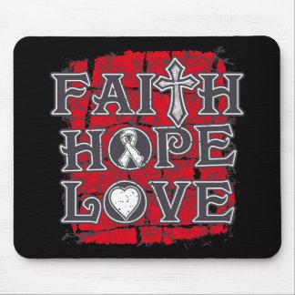 Emphysema Faith Hope Love Mouse Pad