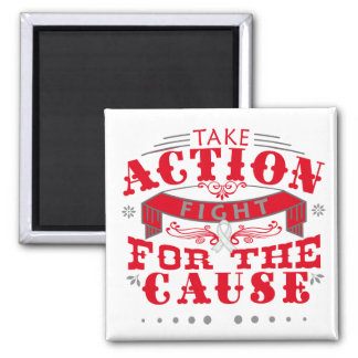 Emphysema Take Action Fight For The Cause Magnets