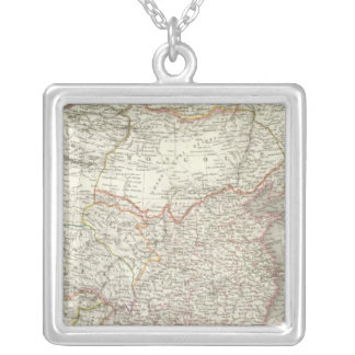 Empire Chinois, Japon - Chinese Empire and Japan Silver Plated Necklace