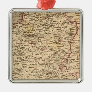 Empire Francais et Royaume d'Italie en 1809 Christmas Ornament