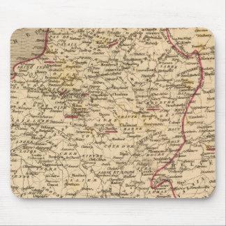 Empire Francais et Royaume d'Italie en 1809 Mouse Mat