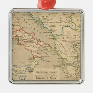 Empire Grec et Royaume d'Italie 774 a 900 Christmas Ornament