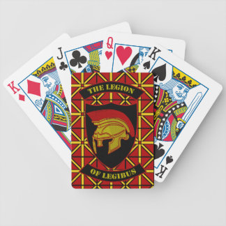 Empire, League, and Legion of Legibus Bicycle Playing Cards