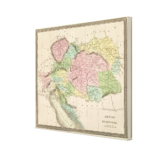 Empire of Austria Canvas Print