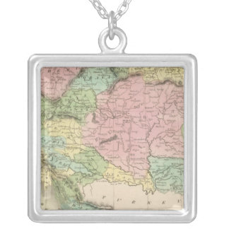 Empire of Austria Silver Plated Necklace