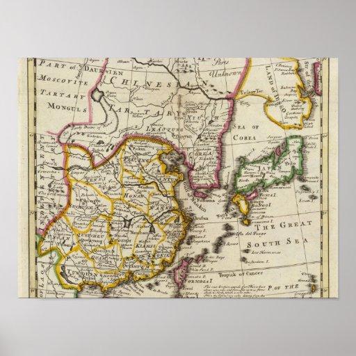 Empire of China, island of Japan Print