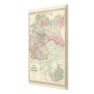 Empire of Germany Canvas Print