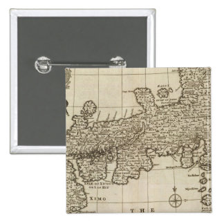 Empire of Japan 15 Cm Square Badge
