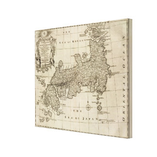 Empire of Japan Canvas Print